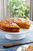 Gluten Free Orange - almond syrup cake