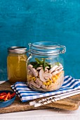 Chicken Noodle Soup in a Jar