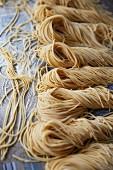 Home-made spaghetti