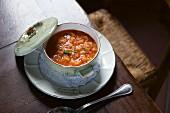 Pappa Al Pomodoro (tomato bread soup, Tuscany)