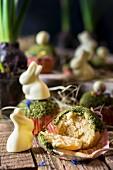 Ostermuffins mit Moos