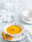 Carrot cream soup (Christmas)