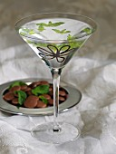 Vodka with chocolate and mint