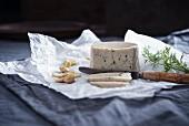 Homemade cashew cheese (vegan)