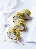 California maki in tempura batter