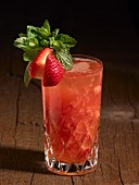 A Strawberry and Mint Julep