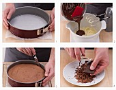 How to make a chocolate cake base