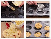 How to make emmental muffins with buttermilk