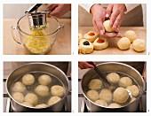 How to make fruit dumplings