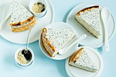 Poppy seed cheesecake (low carb)