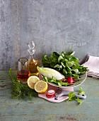 Zutaten für Salate