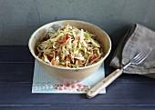 Steirischer Krautsalat mit Speck