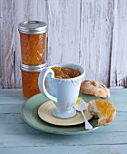 Lemon and clementine marmalade