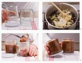 Veganen Pflaumen-Birnen-Aufstrich zubereiten