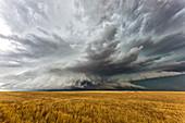 Supercell thunderstorm, Colorado, USA