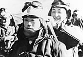 WWII Japanese Kamikaze pilots
