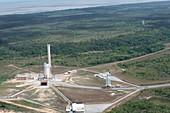 Guiana Space Centre launch preparations, November 2016