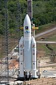 Ariane 5 rocket launch preparations, November 2016