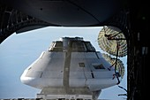 Orion parachute drop testing, 2012