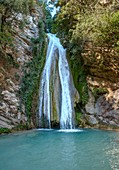 Neda river falls, western Peloponnese