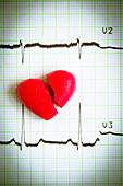 Heart attack, conceptual image