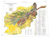 Geologic and Mineral Resource Map of Afghanistan
