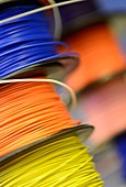 Reels of insulated electrical wire