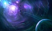 Advanced space-faring civilisation, illustration