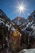 Uncompahgre Gorge, Colorado, USA