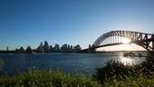 Sydney Harbour Bridge, timelapse