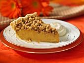 Pumpkin Pie mit Knusper-Kruste