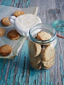 Wholegrain coconut cookies