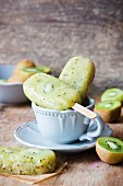 Kiwi ice lollies