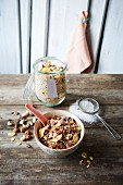 Classic nut muesli and chocolate muesli