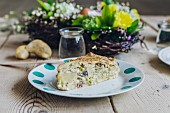 Easter, savory cake, Italy