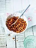 Roasted chick-peas