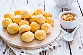 Chipa (cheese bread rolls from Argentina)