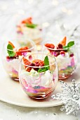 Mini Christmas Eton Mess