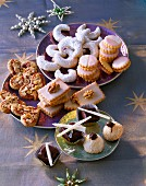 European Christmas cookies