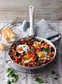 Shakshuka-style beans