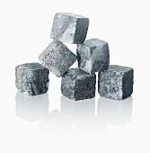Eiswürfel Steine aus Granit