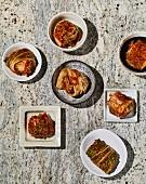 Vegan kimchi (Korea)