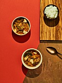 Kimchi jjigae (kimchi stew, Korea)
