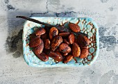 Roasted vanilla almonds (sugar-free)