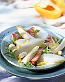Chicory with red mullet