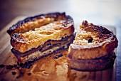 Tartine with truffle