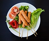 Thai fried tofu appetisers