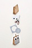 How to make an owl gift bag