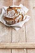 Rustic farmhouse bread