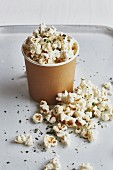 Selbstgemachtes Thymian-Popcorn